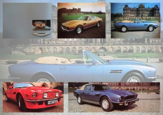 Aston Martin Lagonda Brochure 1975 (12 Pages)
