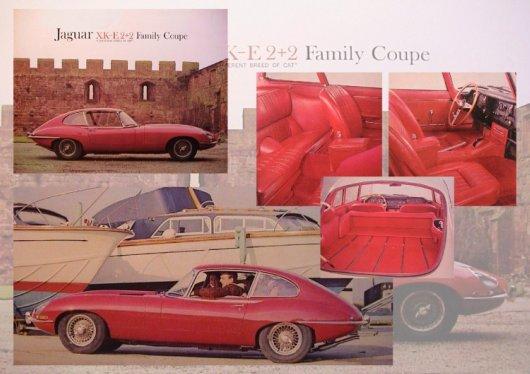 jaguar e type series i brochure 1966 4 pages
